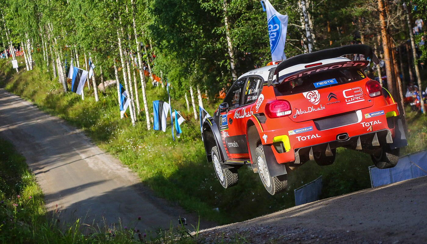 Citroen Racing at Rally Finland WRC