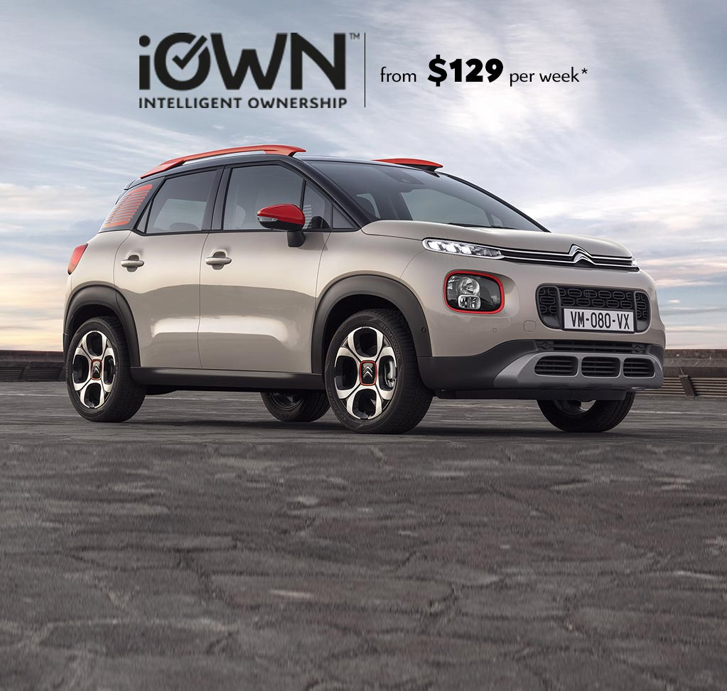 Citroën C3 Aircross SUV With iOWN Intelligent Ownership | From $129 per week* and Guaranteed Future Value