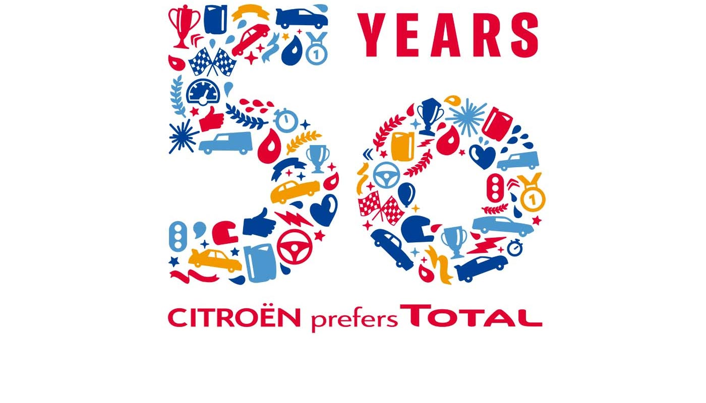 Citroen and Total 50 Year Partnership