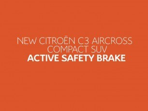Citroën C3 Aircross SUV Tutorial Videos - Active Safety Brake