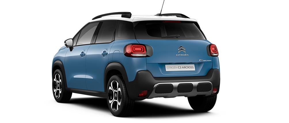 Citroen C3 Aircross SUV Breathing Blue