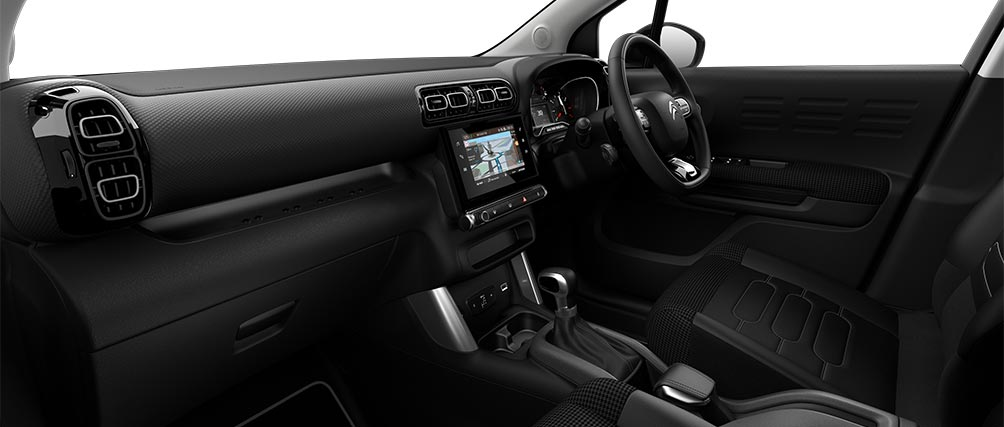 Citroen C3 Aircross SUV Hype Mistral Interior Ambiance