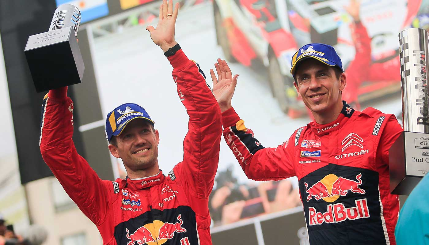 Rally Chile: 2nd Place for C3 WRC with Sebastien Ogier