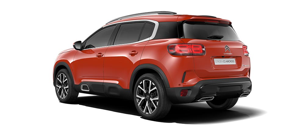 Citroën C5 Aircross SUV Colours | Volcano Red