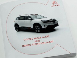Citroën C5 Aircross SUV Tutorial Video | Coffee Break Alert and Driver Attention Alert