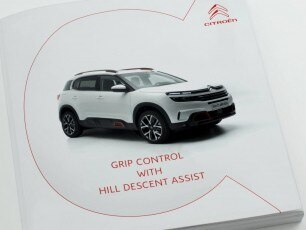 Citroën C5 Aircross SUV Tutorial Video | Grip Control With Hill Descent Assist