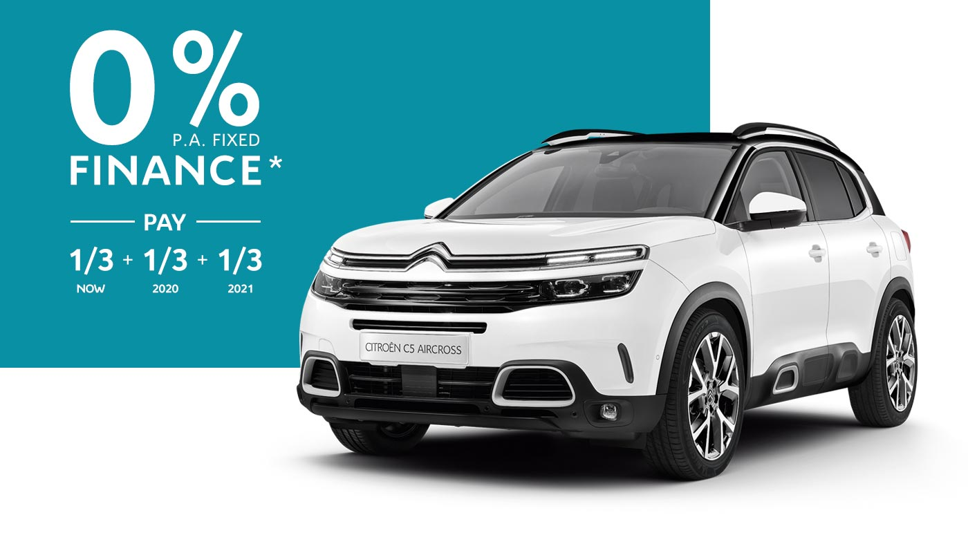Citroën C5 Aircross SUV Finance Offer