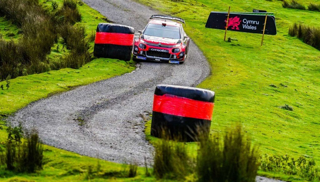 Wales Rally GB Podium for Citroën Racing C3 WRC and Sébastien Ogier