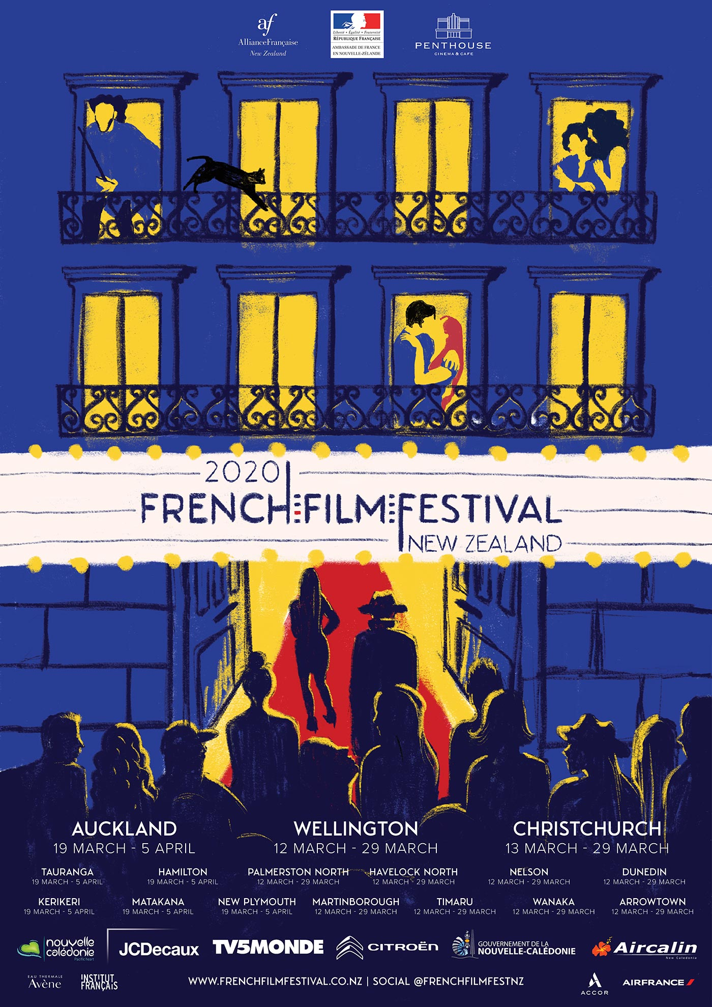 Citroën Proud Sponsor of the 2020 French Film Festival NZ