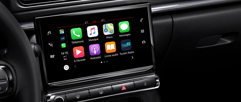 New Citroën C3 Hatch | Apple Carplay™ and Android Auto
