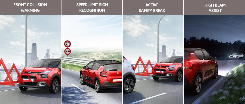 New Citroën C3 Hatch | Up To 12 Driver Assistance Systems