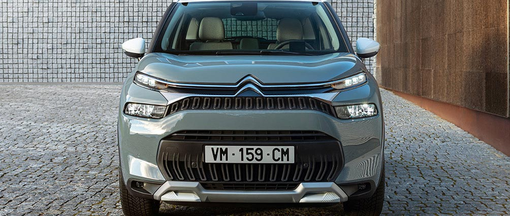 New Citroën C3 Aircross SUV Design   New Front End
