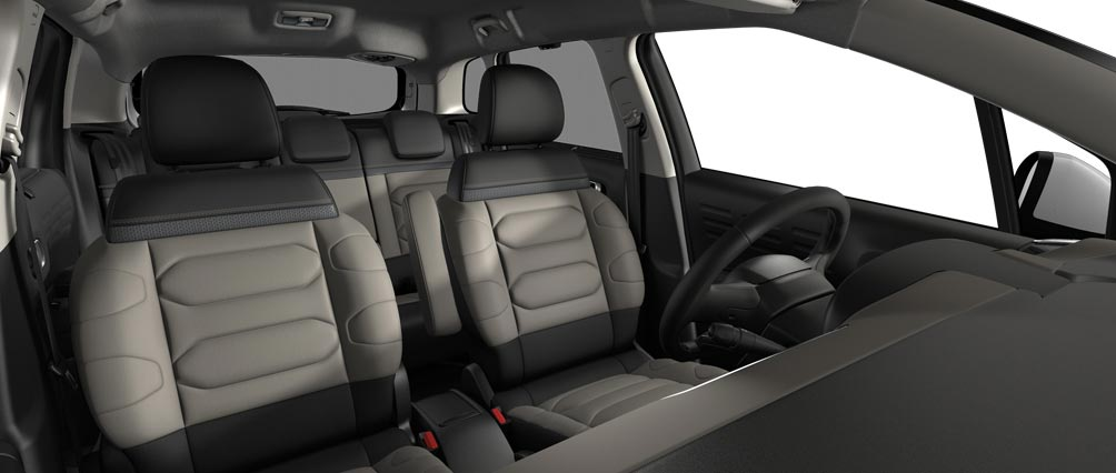 New Citroën C3 Aircross SUV Interior Ambiances | Hype Grey