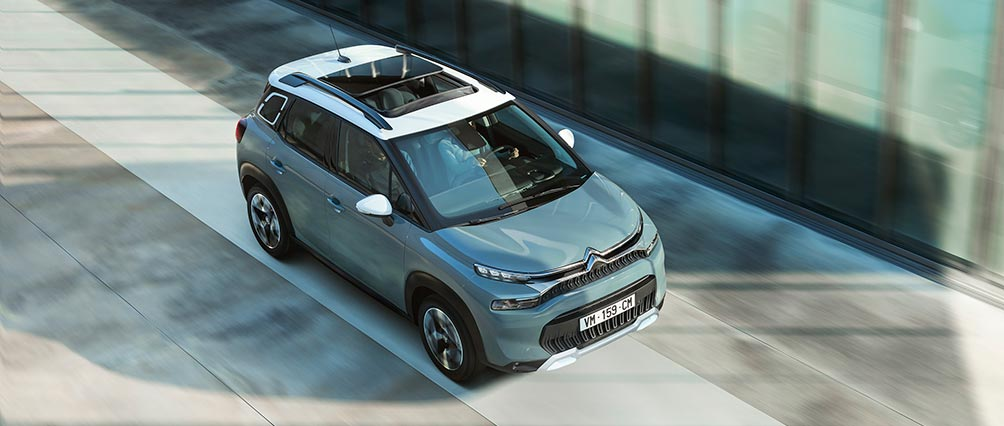 New Citroën C3 Aircross SUV Technology | 12 Driver Assistance Systems
